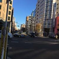 Photo taken at 馬喰町一丁目 交差点 by zeroweb_boss on 12/27/2015