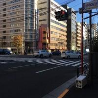 Photo taken at 馬喰町一丁目 交差点 by zeroweb_boss on 12/28/2015
