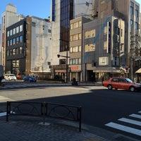 Photo taken at 馬喰町一丁目 交差点 by zeroweb_boss on 2/29/2016