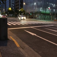 Photo taken at 馬喰町一丁目 交差点 by zeroweb_boss on 5/3/2016