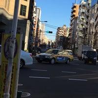Photo taken at 馬喰町一丁目 交差点 by zeroweb_boss on 5/8/2016
