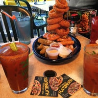 Photo taken at Quaker Steak & Lube® by Kyrie D. on 10/6/2012