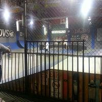 Photo taken at Skatelab Skatepark by Mae W. on 10/18/2013