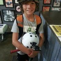 Photo taken at Skatelab Skatepark by Mae W. on 7/8/2014