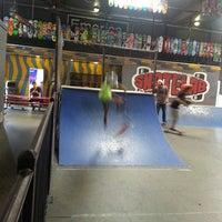 Photo taken at Skatelab Skatepark by Mae W. on 10/2/2013