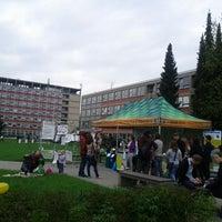 Photo taken at Provozně ekonomická fakulta ČZU (PEF) by Pavel B. on 5/7/2013