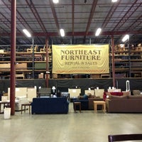 Photo taken at Northeast Furniture Rental And Sales by Casey K. on 5/18/2013