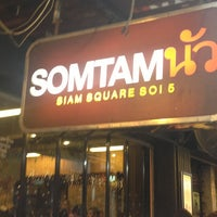 Photo taken at Som Tam Nua by Suppasri C. on 12/30/2012