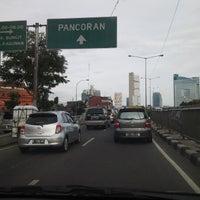 Photo taken at Jalan Kapten Pierre Tendean by Bambang G. on 1/8/2015