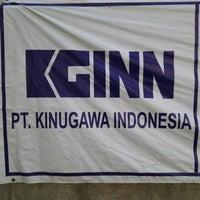 Photo taken at PT. Kinugawa Indonesia by Bambang G. on 4/27/2015
