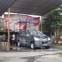 Photo taken at Dinar car wash by Bambang G. on 2/5/2015