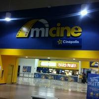 Photo taken at Mi Cine by Julio S. on 12/8/2012