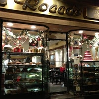 Photo taken at Pasticceria Rocco - Pastry Shop and Espresso Cafe by Jamil T. on 12/4/2012