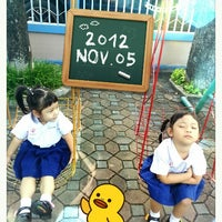 Photo taken at Saidaroon Kindergarten CM by ArraRae K. on 11/5/2012