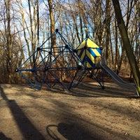 Photo taken at Waldspielplatz im Pasinger Stadtpark by Timo B. on 1/6/2014