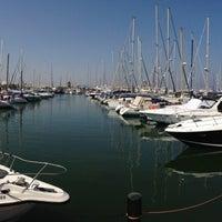 Photo taken at Larnaca Marina by Вячеслав П. on 8/29/2013