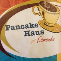 Photo taken at Pancake Haus by Chris W. on 10/21/2012