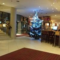Photo taken at Sheraton Poznan Hotel by Fernando M. on 12/12/2012