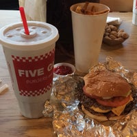 Photo taken at Five Guys by Anıl A. on 4/9/2017