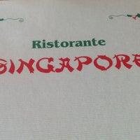 Photo taken at Ristorante Singapore by Valerio B. on 4/18/2013