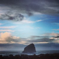 Photo taken at Pacific City, OR by Matthew B. on 1/21/2017