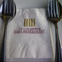 Photo taken at Saba Restaurant by F on 3/1/2013