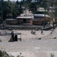 Photo taken at Amphithéatre Romain de Carthage by Noomen D. on 3/4/2018