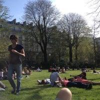 Photo taken at Jardin du Ranelagh by Pierre O. on 4/14/2013