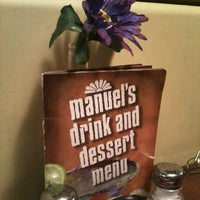 Photo taken at Manuel's Mexican Food by David O. on 12/3/2012