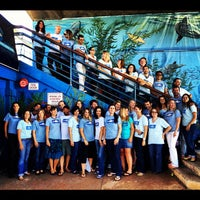 Photo taken at Heal the Bay's Santa Monica Pier Aquarium by Heal the Bay on 10/15/2012