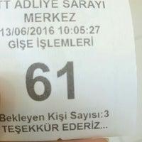 Photo taken at Ptt Adliye Şubesi by Agop Hd E. on 6/13/2016