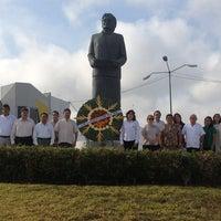Photo taken at Monumento A Maria Lavalle Urbina by Eduardo P. on 5/24/2013