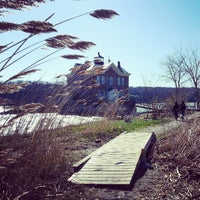 Photo taken at Saugerties Lighthouse by David R. on 4/21/2013