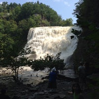 Photo taken at Ithaca Falls by Paul S. on 9/2/2013