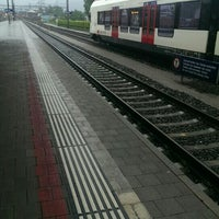 Photo taken at Bahnhof Rotkreuz by Sasha on 5/13/2016
