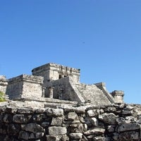 Photo taken at Tulum Archeological Site by Olga G. on 9/24/2012