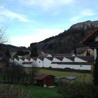 Photo taken at Ornans by Florent L. on 12/24/2012