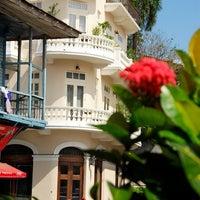 Снимок сделан в Las Clementinas Bistro пользователем OfertaSimple Panamá 1/2/2013