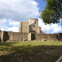 Photo taken at Manastir Đurđevi stupovi by Milan R. on 7/14/2013