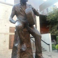 Photo taken at Willie Nelson Statue by Steve K. on 9/25/2013