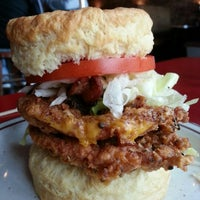 Photo taken at Denver Biscuit Company by Steve K. on 10/4/2012