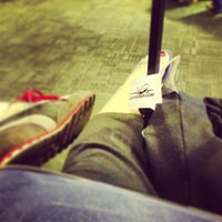 Photo taken at Gate B4 by Stephanie P. on 8/16/2013