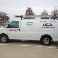 Photo taken at Lees Summit Heating and Cooling Inc by Laura N. on 12/19/2012
