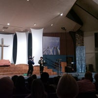 Photo taken at Lincoln Glen Church by Iben R. on 3/15/2014