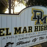 Photo taken at Del Mar High School by Iben R. on 3/18/2013