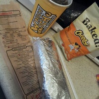 Photo taken at Which Wich? Superior Sandwiches by Kerri B. on 11/2/2012
