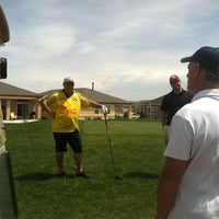 Photo taken at Heritage Todd Creek Golf Club by Kurt D. on 5/4/2014