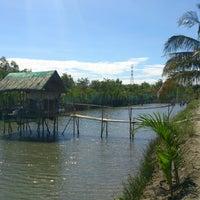 Photo taken at Baay Fishponds, Lingayen, Pangasinan by Gerard Cedric R. on 2/24/2013