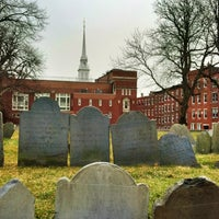Photo prise au Copp's Hill Burying Ground par Cory S. le2/5/2013