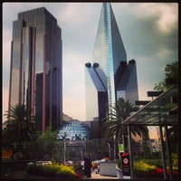 Photo taken at Av. Paseo de la Reforma by Ivan R. on 7/4/2013